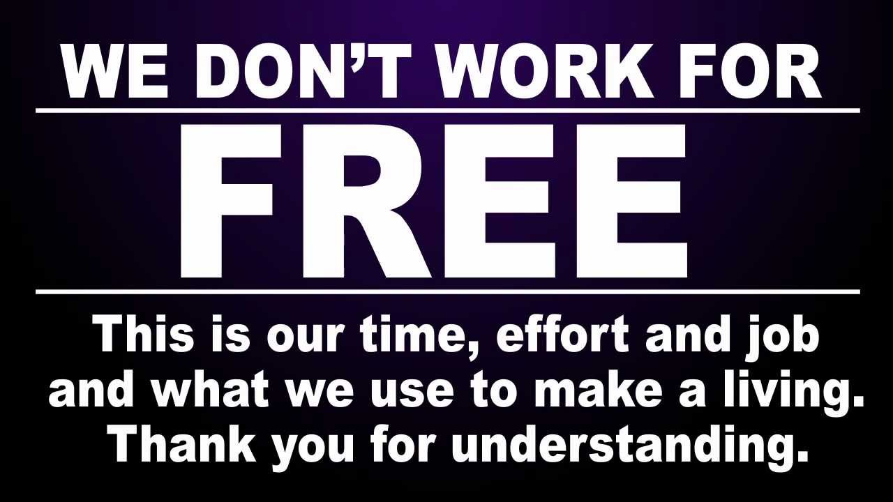 Working for free as a freelancer