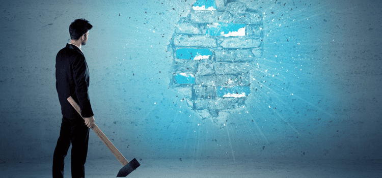 How to break through when you've hit a wall with your blog