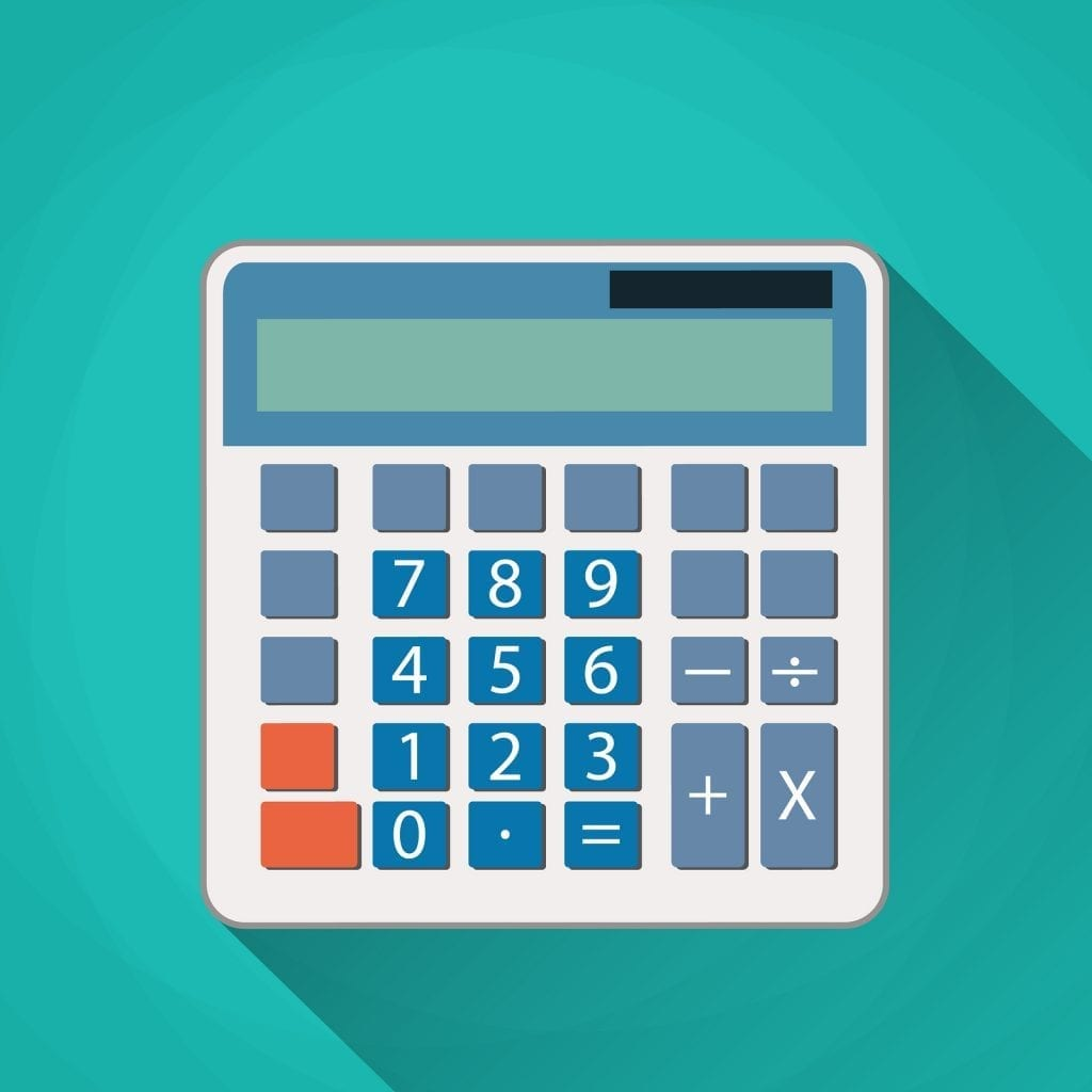 Accountants calculator