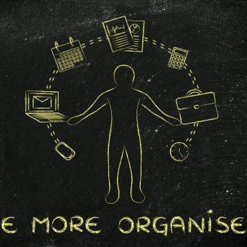 Three Ways To Get Organised