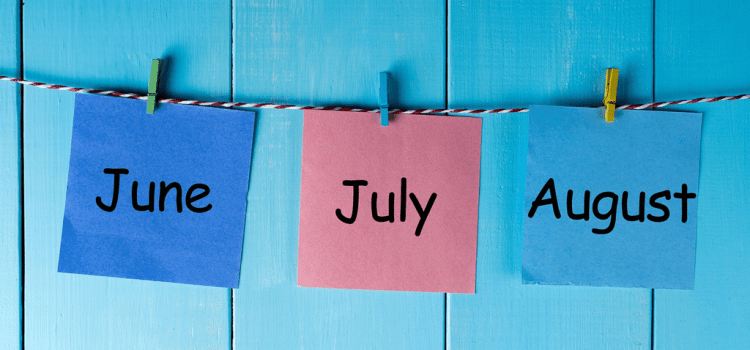 How to Make the Most of the Quieter Summer Months