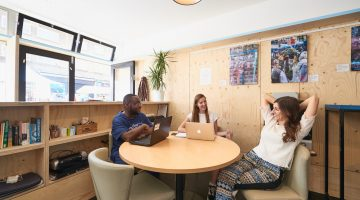 Hatch Enterprise Talk Coworking Spaces
